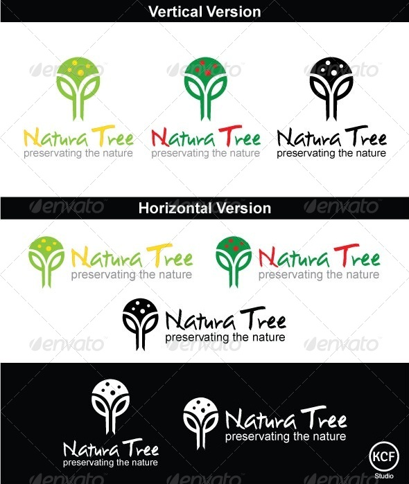 Natura Logo Design - Nature Logo Templates