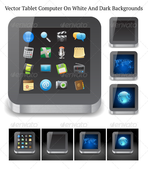 GraphicRiver Tablet Computer 4067362
