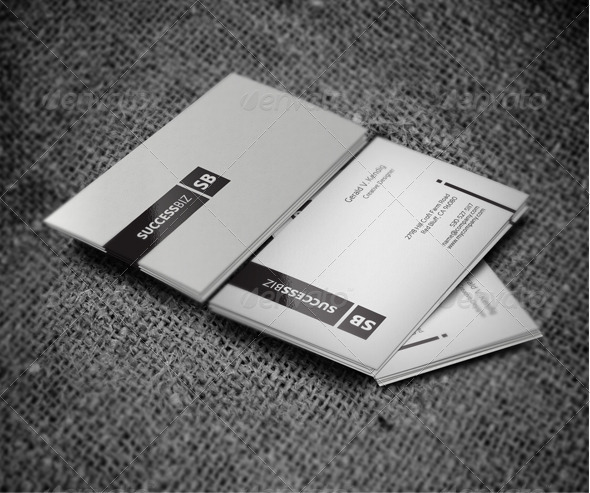 GraphicRiver Minimal Clean Business Card 4068007