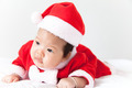 Little girl with santa costume - PhotoDune Item for Sale