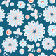 Seamless Floral Hand Drawn Background - GraphicRiver Item for Sale