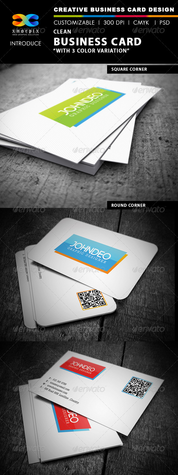 GraphicRiver Clean Business Card 4068700