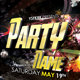 Party Name Flyer Template - GraphicRiver Item for Sale