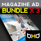 Magazine Advert Templates - Bundle - GraphicRiver Item for Sale