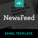 Newsfeed Email Template - ThemeForest Item for Sale