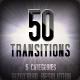 50 Transitions Bundle 转场动画展示AE精品下载