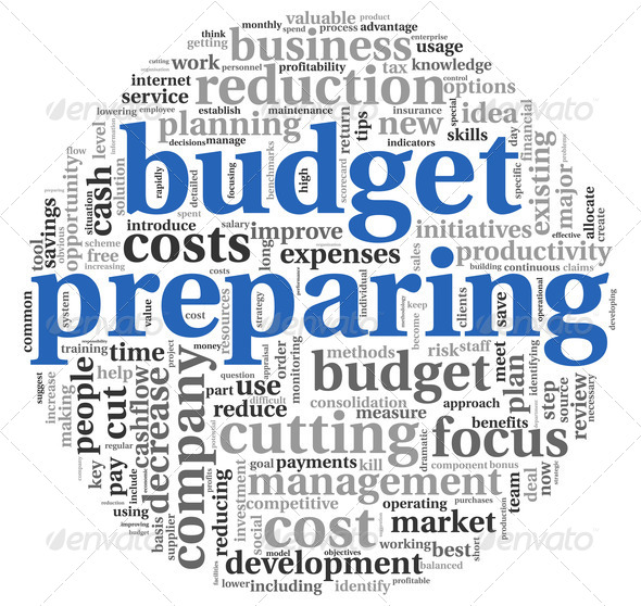 Budget preparing  concept - Stock Photo - Images