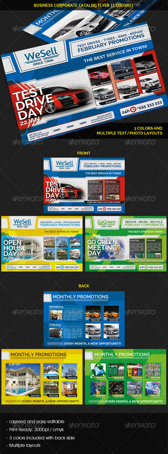 GraphicRiver Business Corporate Catalog Flyer 4071525