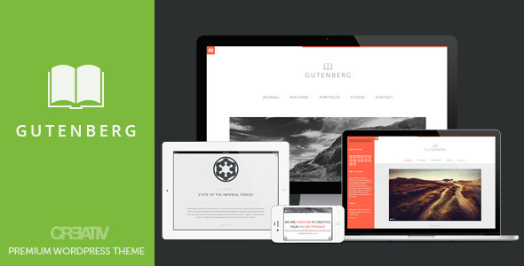 Gutenberg wordpress theme download