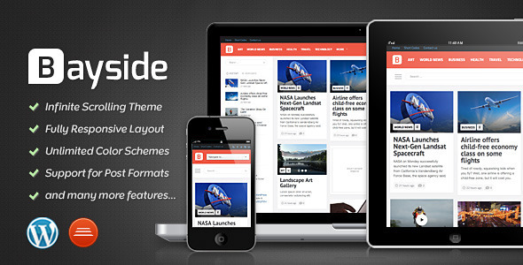 Bayside - Responsive WordPress Theme - ThemeForest Item for Sale