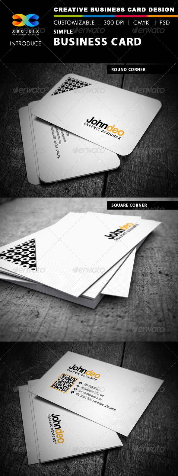 GraphicRiver Simple Business Card 4073043