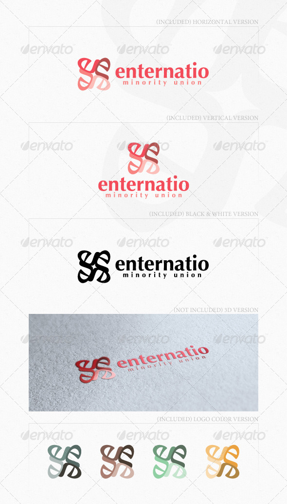Enternatio Logo - Letters Logo Templates
