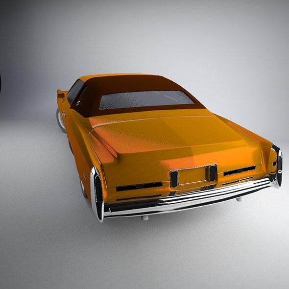 3DOcean Cadillac Eldorado 1978 4073108