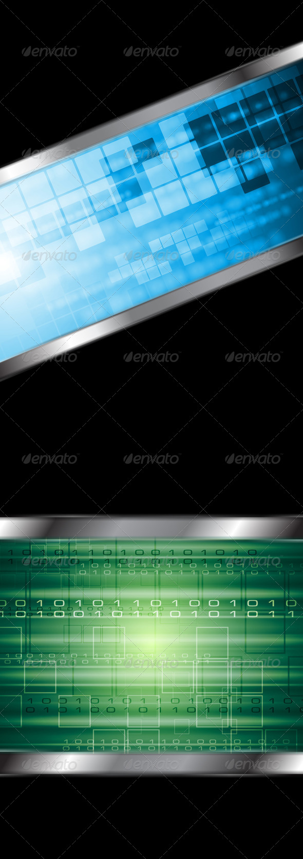 GraphicRiver Abstract Technology Vector Background 4073730