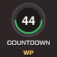 MyCountdown  WordPress Coming Soon Page  - ThemeForest Item for Sale