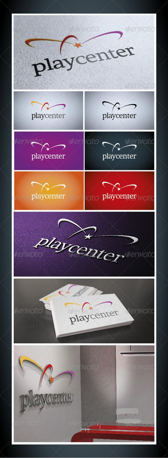 GraphicRiver Play Center Logo Templates 4075550