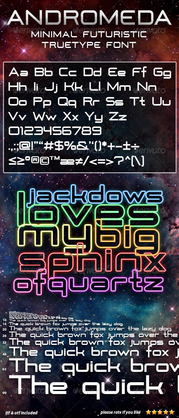 GraphicRiver Andromeda 4075551