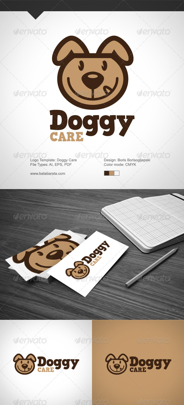Doggy Care - Animals Logo Templates