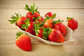 Red strawberries - PhotoDune Item for Sale