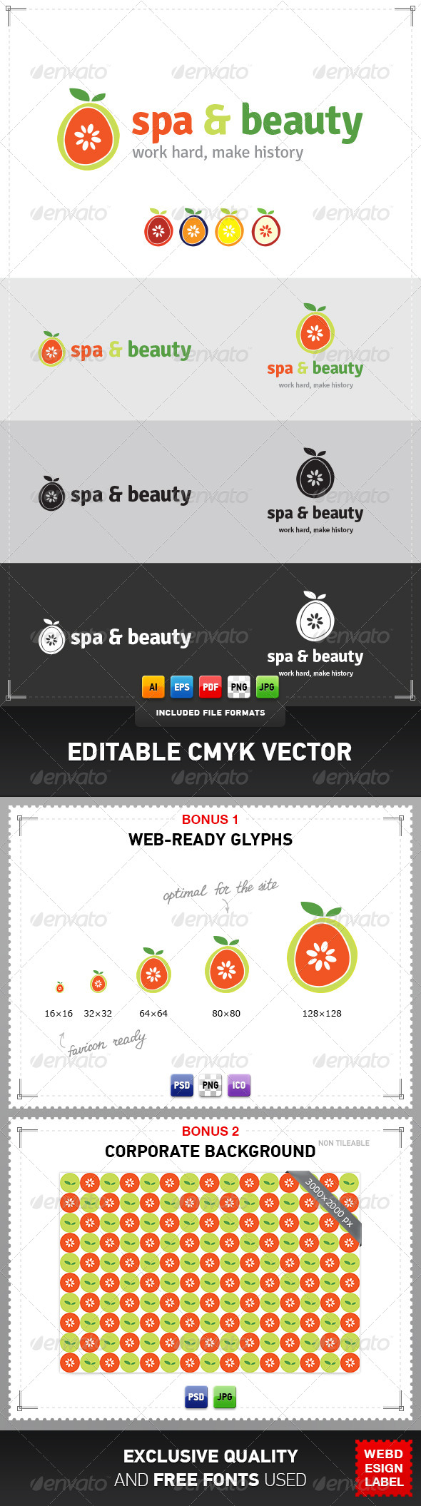GraphicRiver Spa Logo 4077322