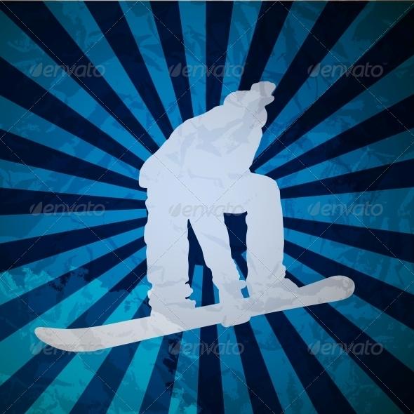 GraphicRiver Snowboarding 4078952