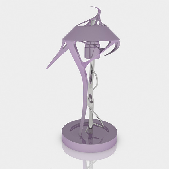3DOcean Squid Lamp 4079077