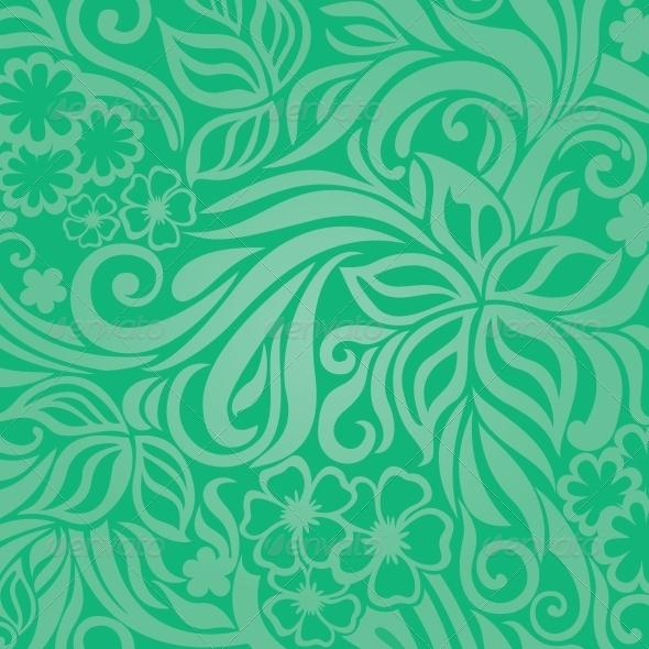 GraphicRiver Excellent floral background 4079105