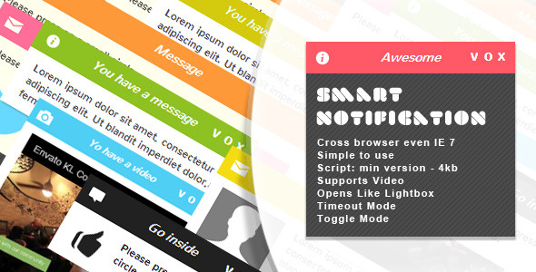 CodeCanyon Smart Notification jQuery Plugin 4079629