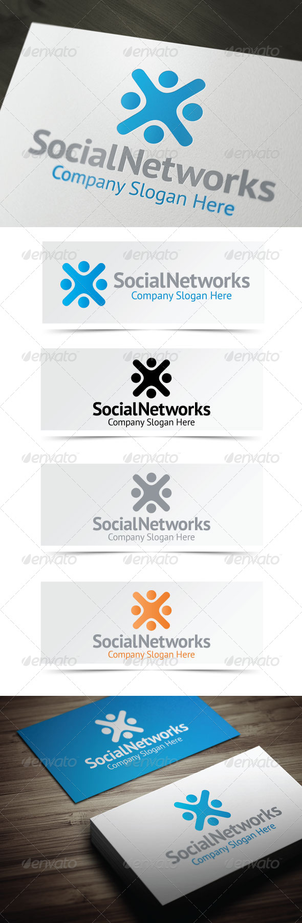 GraphicRiver Social Networks 4079656
