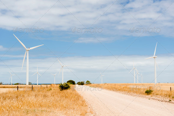 Wind Farm - Stock Photo - Images