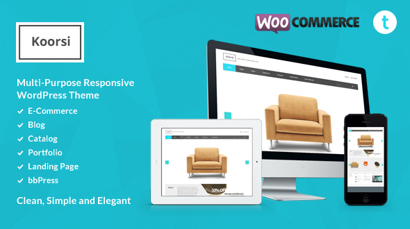 ThemeForest Koorsi All In One Ecommerce & Portfolio & Blog 4034664