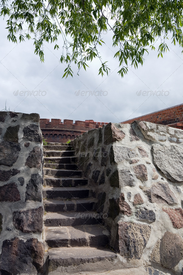 PhotoDune Old fort in the city of Kaliningrad 4082443