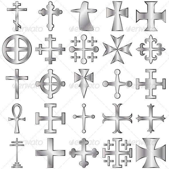 GraphicRiver Crosses Set 4083238