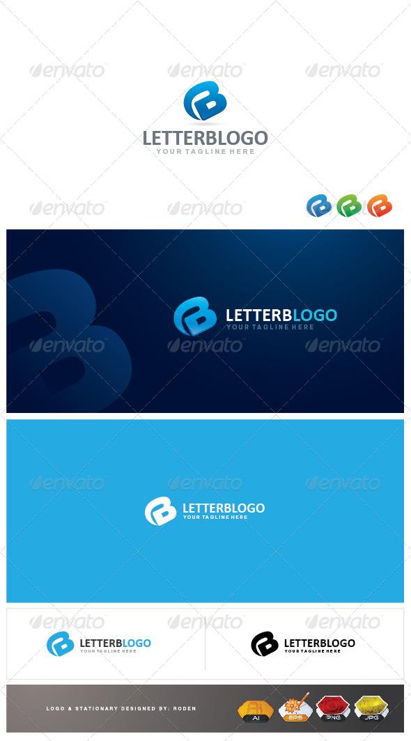 GraphicRiver B Letter Logo 4083386