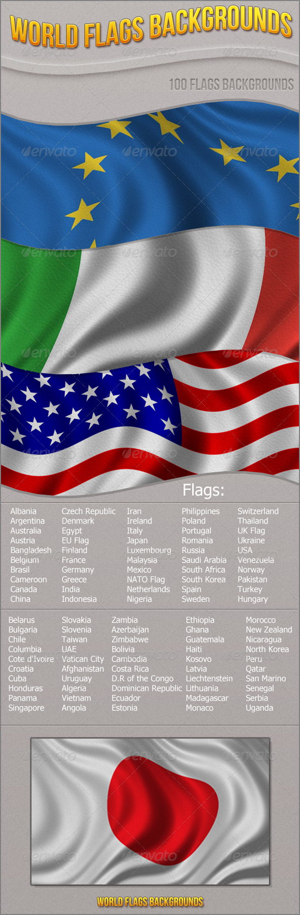 World Flags Backgrounds - Backgrounds Graphics