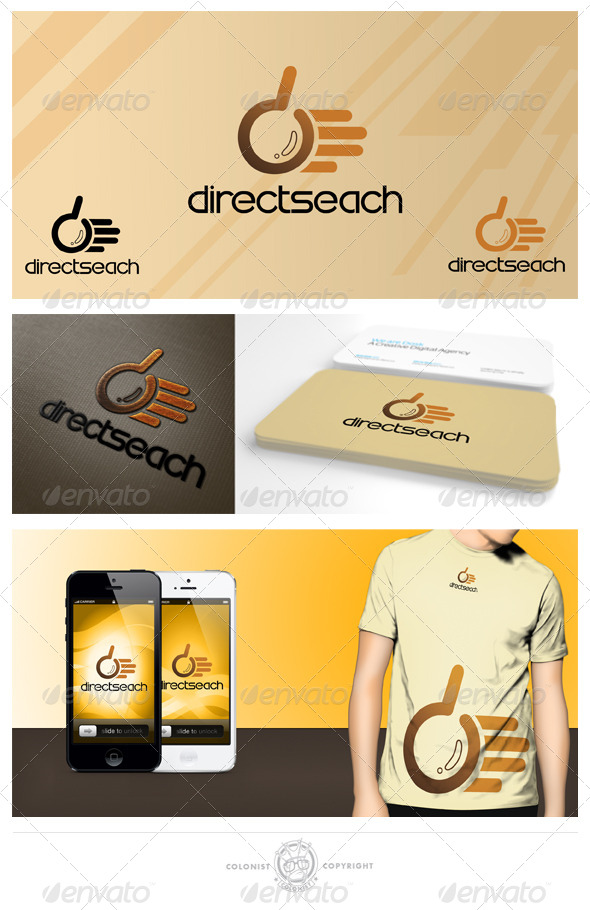 Directsearch logo - Humans Logo Templates