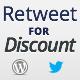 إعادة تغريد على خصم - WorldWideScripts.net السلعة للبيع