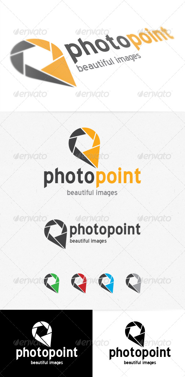 GraphicRiver Photo Point Logo 3991777