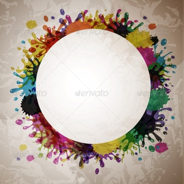 GraphicRiver Vector Splash Abstract Background 4086012