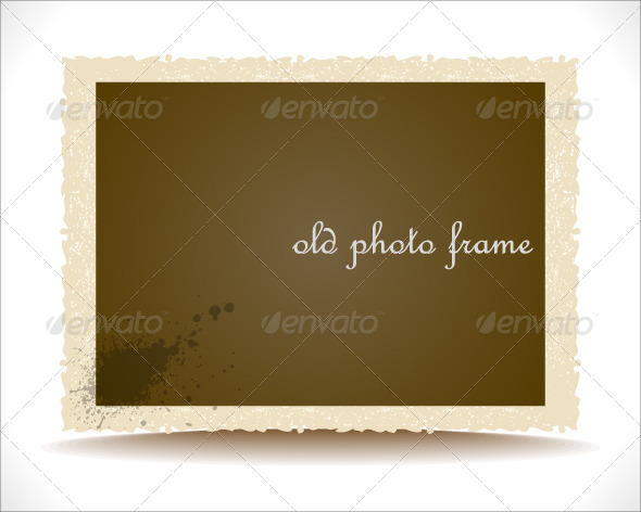 GraphicRiver Old Photo Frame 4086043