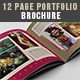 12 Page Portfolio Brochure - GraphicRiver Item for Sale