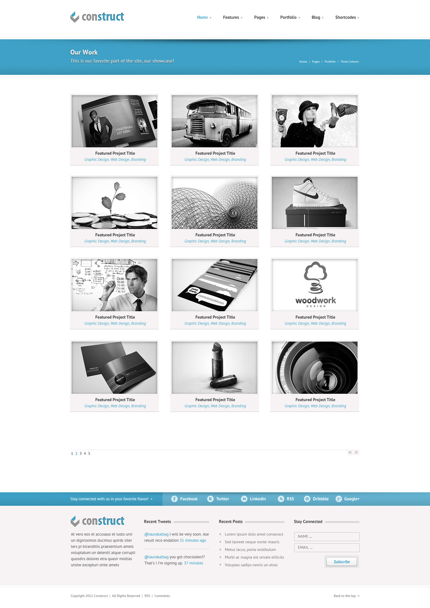 Construct | Multi-Purpose Wordpress Theme