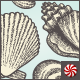 Vintage Beach and Ocean Seashells Vector Elements - GraphicRiver Item for Sale
