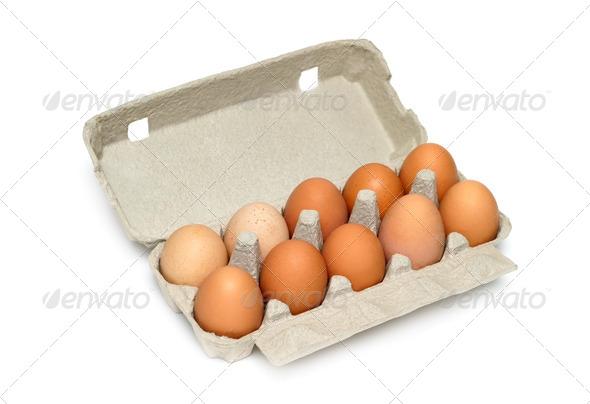 PhotoDune Eggs in the box 4088360