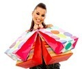 Shopping woman with bags - PhotoDune Item for Sale