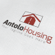 Antolo Housing Logo - GraphicRiver Item for Sale