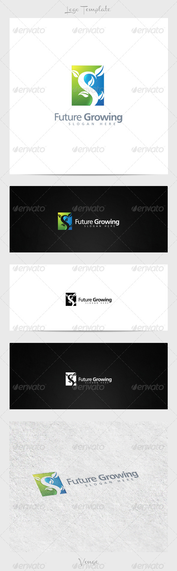 Future Growing - Nature Logo Templates