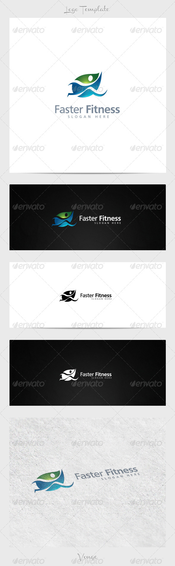 GraphicRiver Faster Fitness 3915770