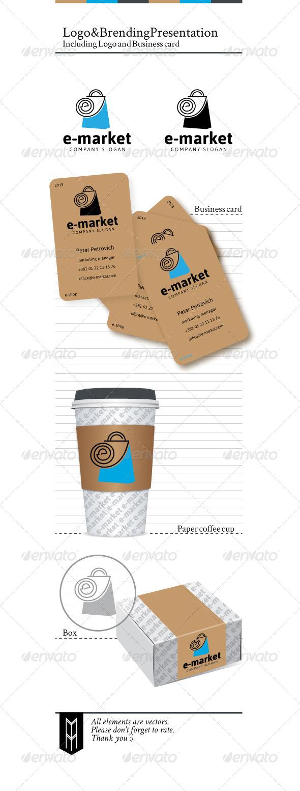 GraphicRiver e-Market Logo 3998665