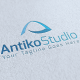 Antiko Studio Logo Template - GraphicRiver Item for Sale